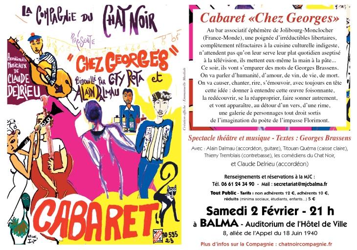 fly cabaret chez georges 2 février balma
